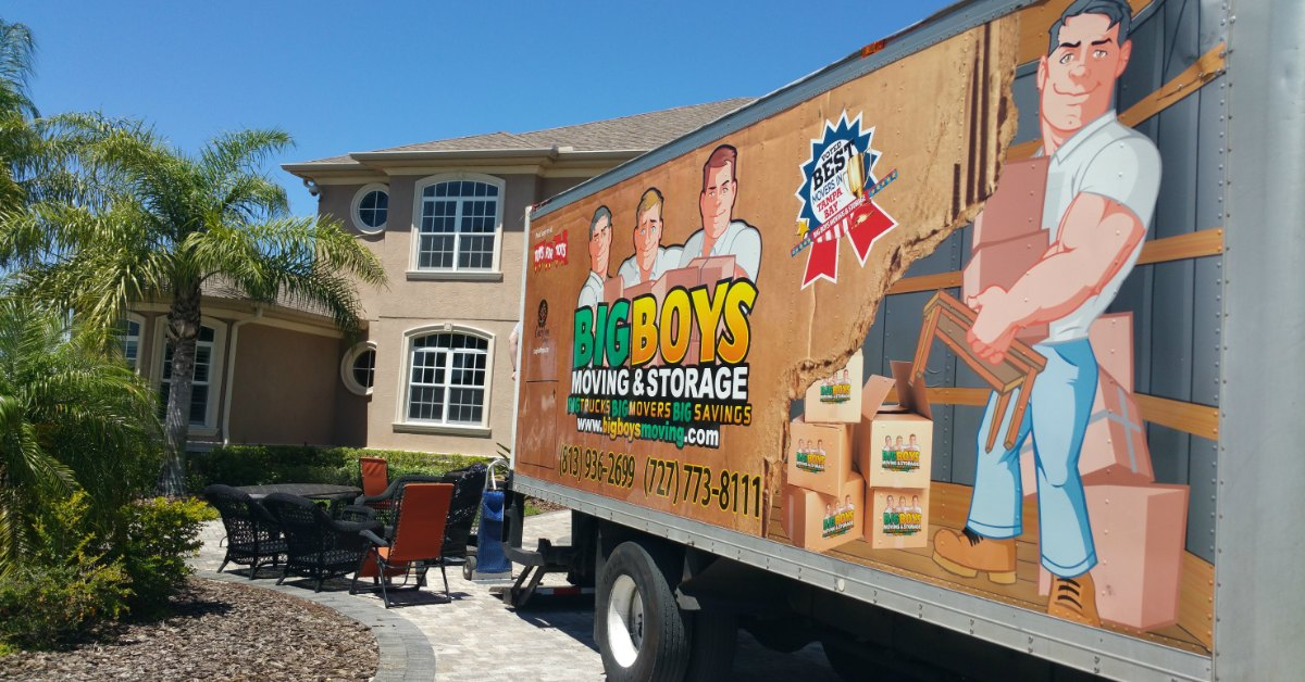Tampa Movers – Voted Best Movers in Tampa Bay