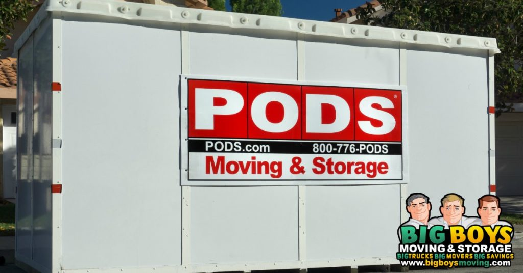 pods packing service