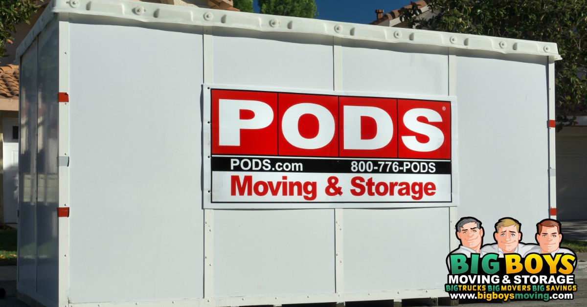 "Pods Packing Service: How hiring ""Labor Only Movers"" can be a BIG help"