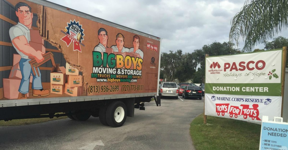 Moving Companies Tampa FL: 5 Reasons Why Big Boys Moving Is The Best