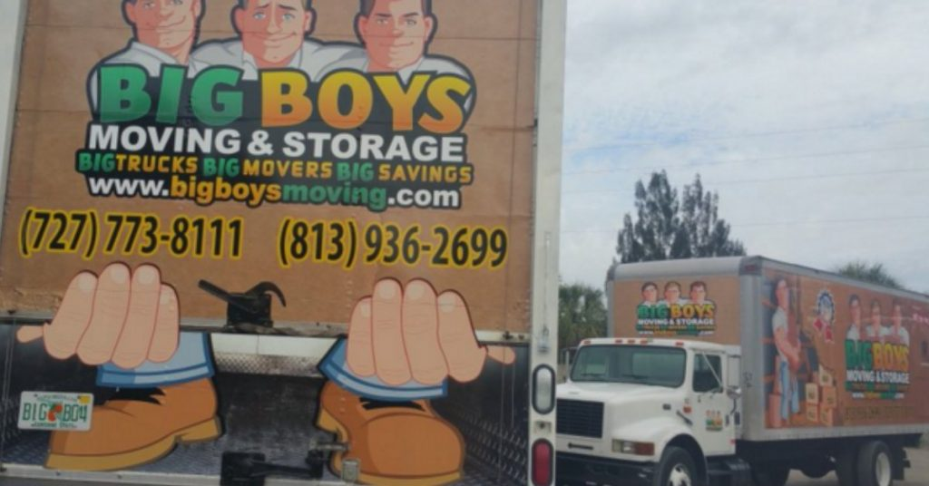 Furniture movers Tampa