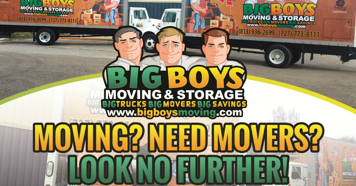 Movers Tampa FL Voted Best Moving Company 9-yrs in a Row