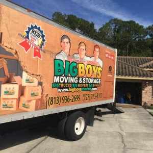 Movers Tampa - Big Boys Moving Voted #1