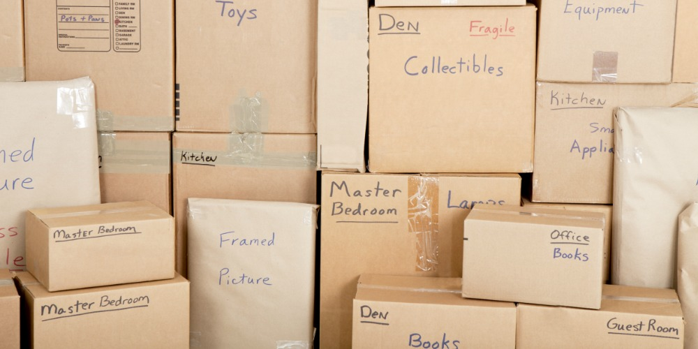 packing moving boxes tampa