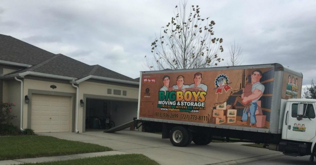 last minute movers tampa