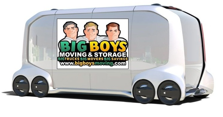 Big Boys Moving News: Moving Supplies Delivered by Self-driving Vehicles Tampa