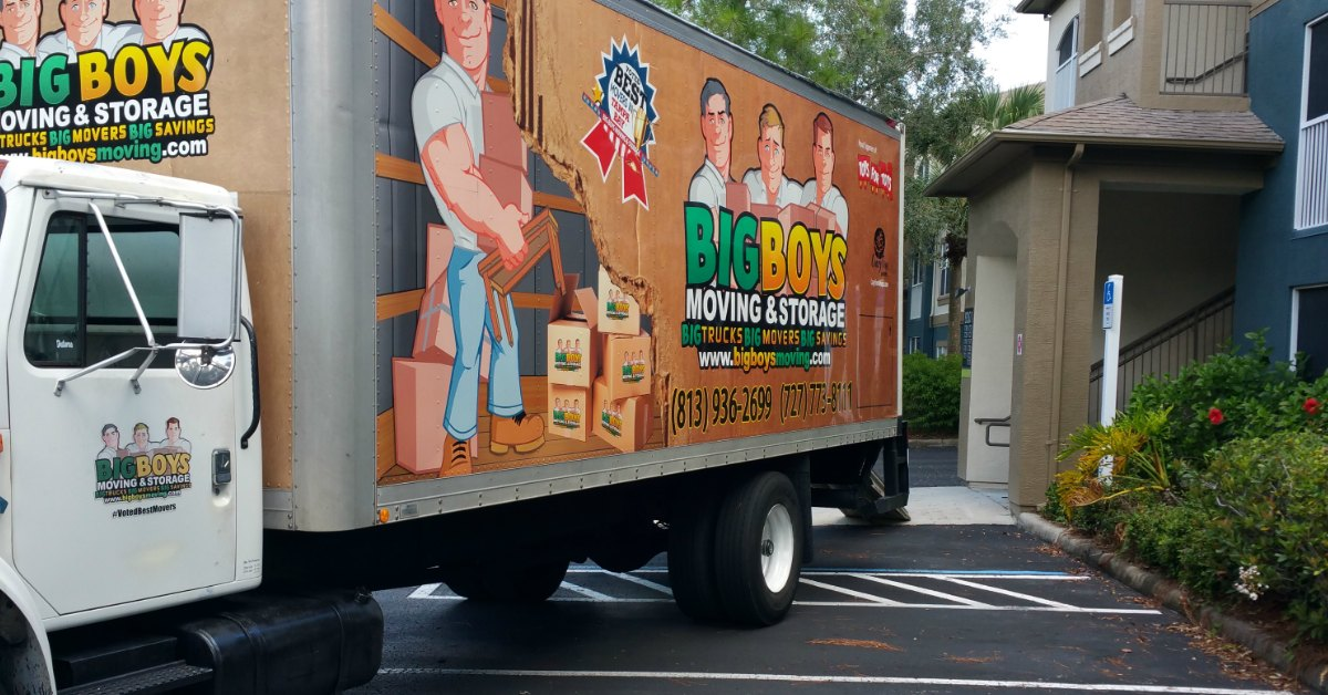 Tampa Apartment Movers
