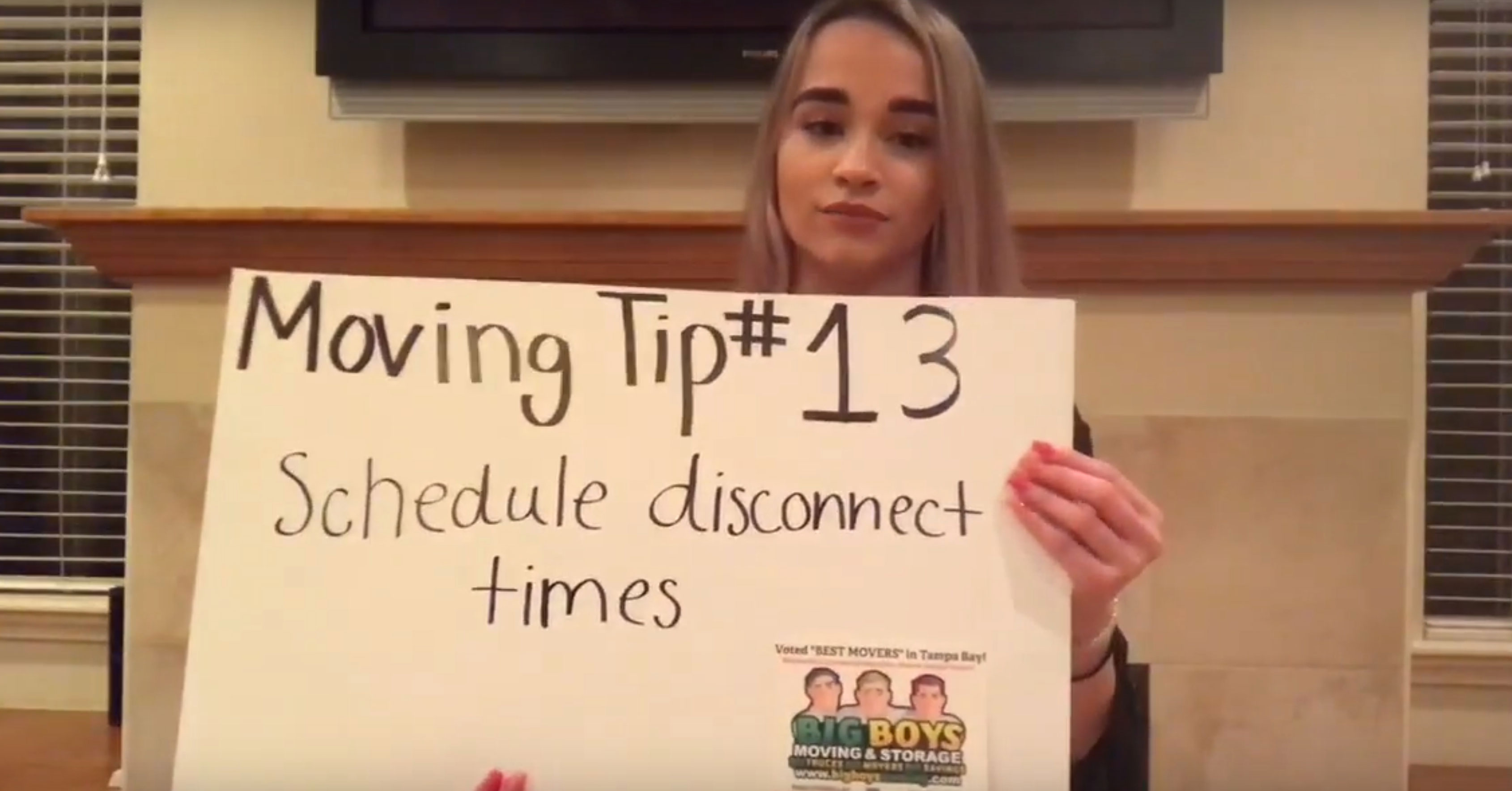(Video) Moving Tip of the Day #13