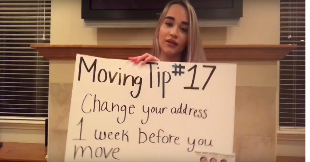 (Video) Moving Tip of the Day #17