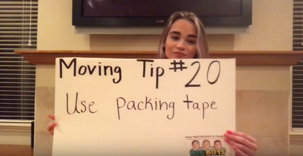 Video Moving Tip of the Day 20