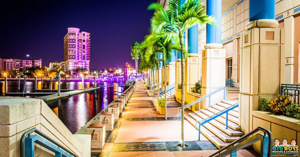 moving to Tampa Florida