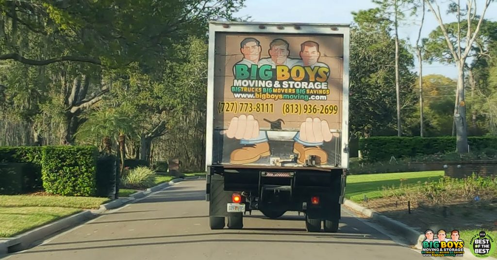 Tampa moving quote